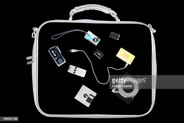 X ray of objects in bag