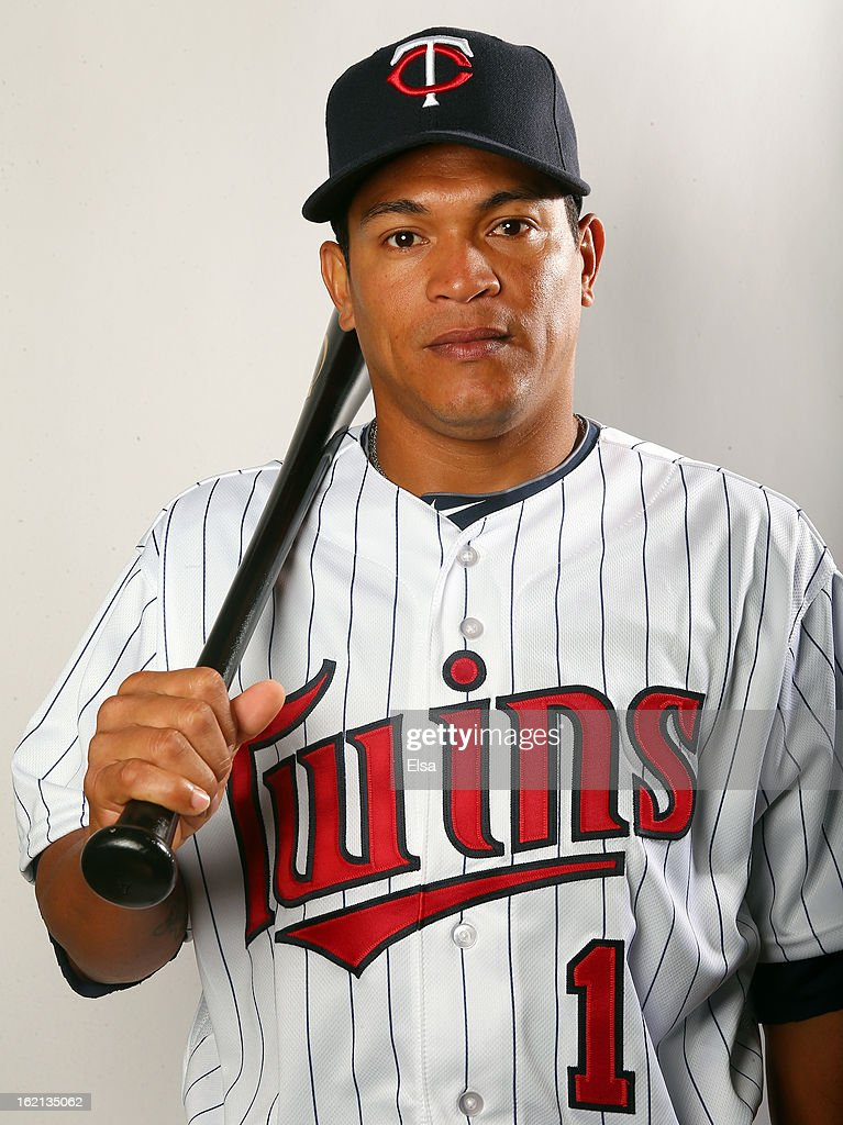 Ray Olmeda #1 of the Minnesota Twins poses for a portrait on February 19, 2013 at Hammond Stadium in Fort Myers, Florida.