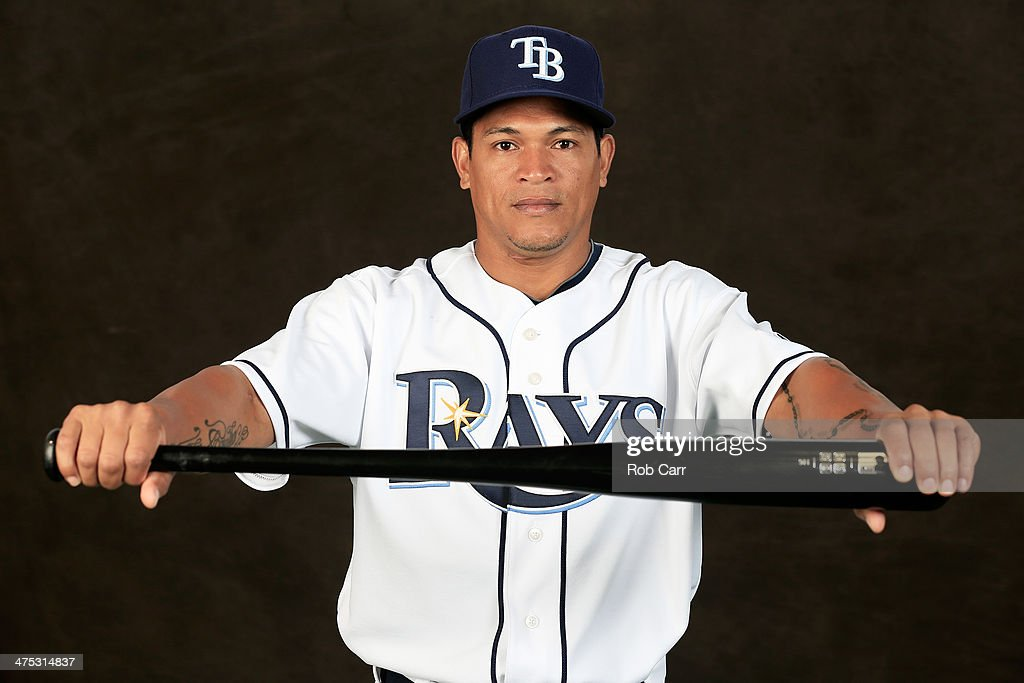 <a gi-track='captionPersonalityLinkClicked' href=/galleries/search?phrase=Ray+Olmedo&family=editorial&specificpeople=556696 ng-click='$event.stopPropagation()'>Ray Olmedo</a> #69 of the Tampa Bay Rays poses for a portrait at Charlotte Sports Park during photo day on February 26, 2014 in Port Charlotte, Florida.