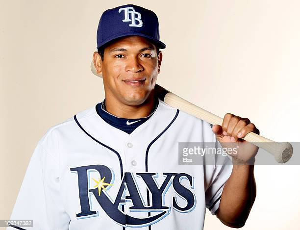 Ray Olmedo of the Tampa Bay Rays poses for a portrait during the Tampa Bay Rays Photo Day on February 22 2011 at the Charlotte Sports Complex in Port...