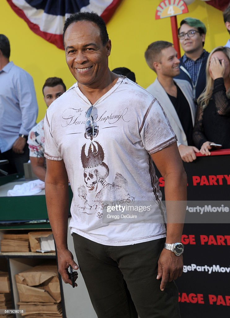 Ray Parker Jr arrives at the premiere of Sony's 'Sausage Party' at Regency Village Theatre on August 9 2016 in Westwood California