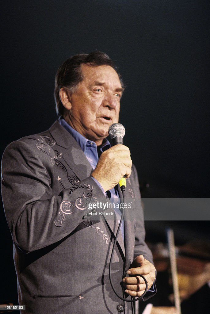 Ray Price performing at Stubbs for SXSW Music Festival in Austin, Texas on March 18,1998.