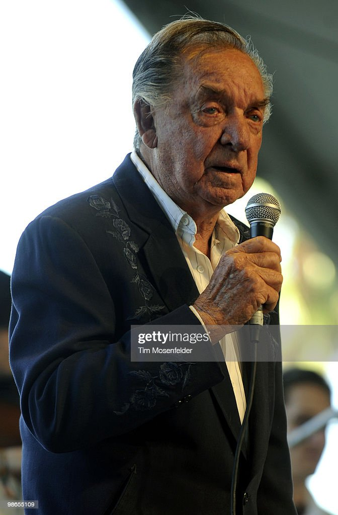 Ray Price performs as part of the Stagecoach Music Festival at the Empire Polo Fields on April 24, 2010 in Indio, California.