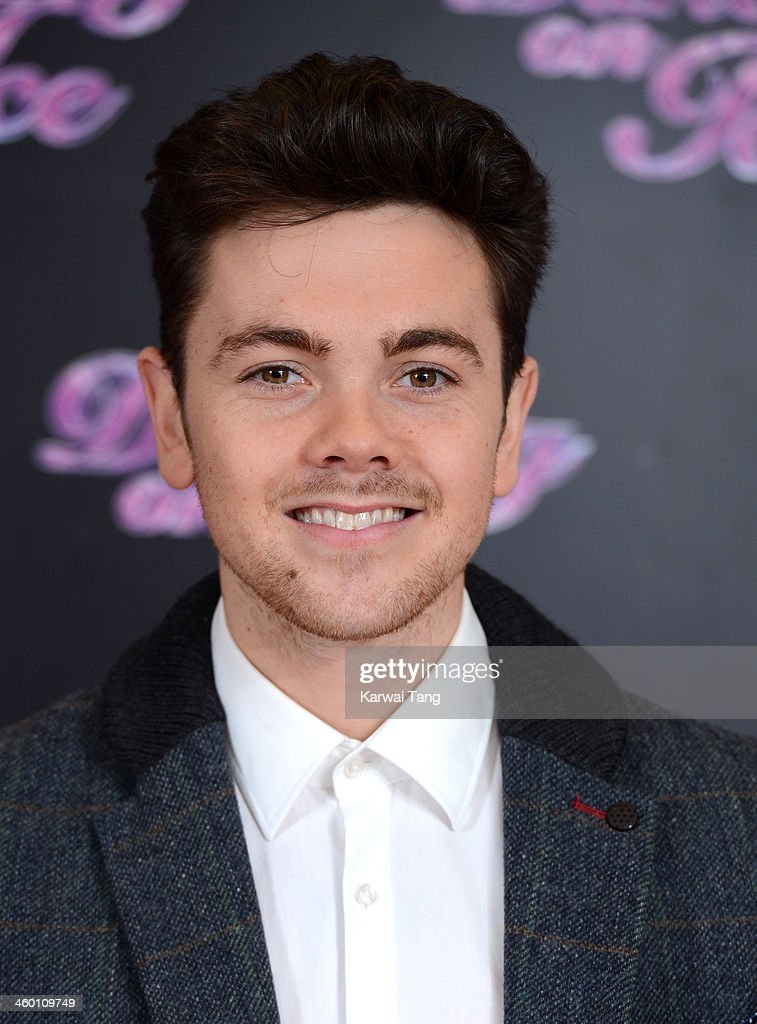 <a gi-track='captionPersonalityLinkClicked' href=/galleries/search?phrase=Ray+Quinn&family=editorial&specificpeople=4044013 ng-click='$event.stopPropagation()'>Ray Quinn</a> attends the series launch photocall for 'Dancing on Ice' held at the London Studios on January 2, 2014 in London, England.