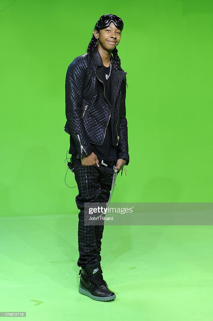 <a gi-track='captionPersonalityLinkClicked' href=/galleries/search?phrase=Ray+Ray&family=editorial&specificpeople=3644927 ng-click='$event.stopPropagation()'>Ray Ray</a> of Mindless Behavior at BET's '106 & Park' at BET Studios on June 10, 2013 in New York City.