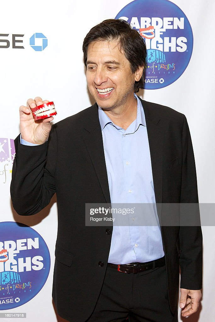 <a gi-track='captionPersonalityLinkClicked' href=/galleries/search?phrase=Ray+Romano&family=editorial&specificpeople=201675 ng-click='$event.stopPropagation()'>Ray Romano</a> attends 'Garden Of Laughs' benefit at Madison Square Garden on January 26, 2013 in New York City.