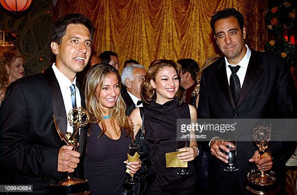 Ray Romano Brad Garrett during The 54th Annual Primetime Emmy Awards HBO Post Party at Spago's in Los Angeles California United States