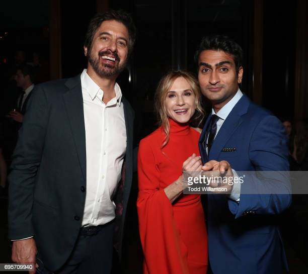 Ray Romano Holly Hunter and Kumail Nanjiani attend The LA Premiere of 'THE BIG SICK' presented by Amazon Studios And Lionsgate on June 12 2017 in Los...