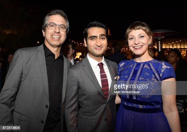Ray Romano Kumail Nanjiani and Emily V Gordon attend the SAGAFTRA Foundation Patron of the Artists Awards 2017 at the Wallis Annenberg Center for the...