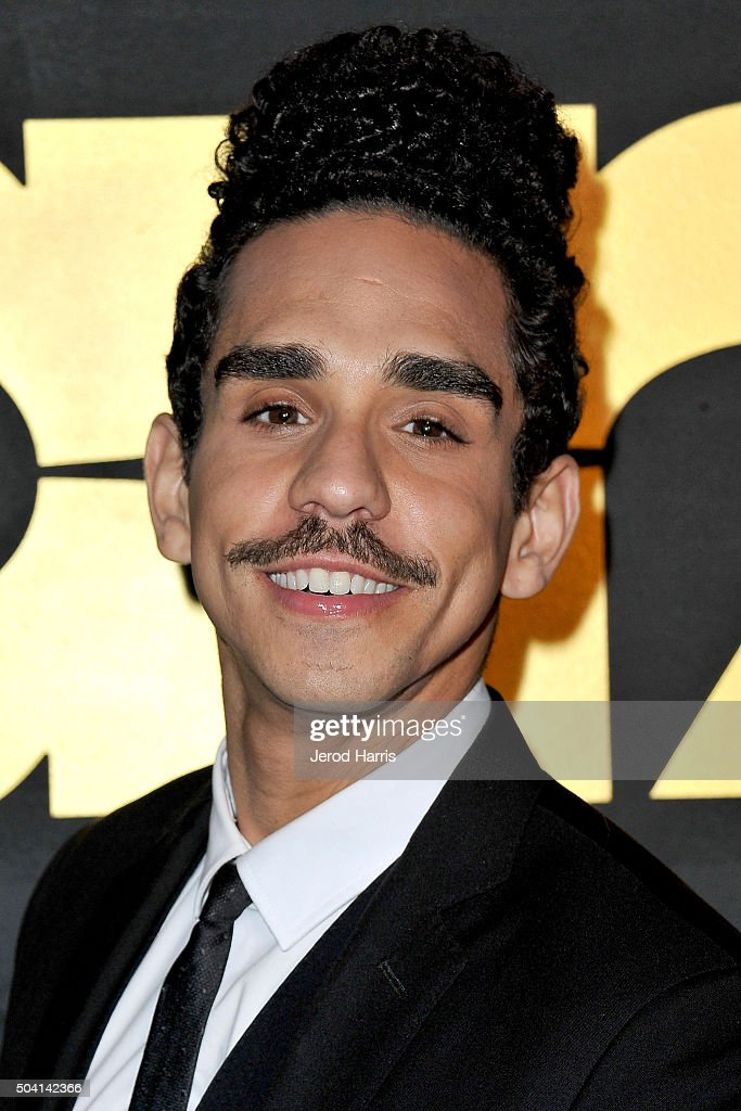 Ray Santiago arrives at the STARZ Pre-Golden Globe Celebration at Chateau Marmont on January 8, 2016 in Los Angeles, California.