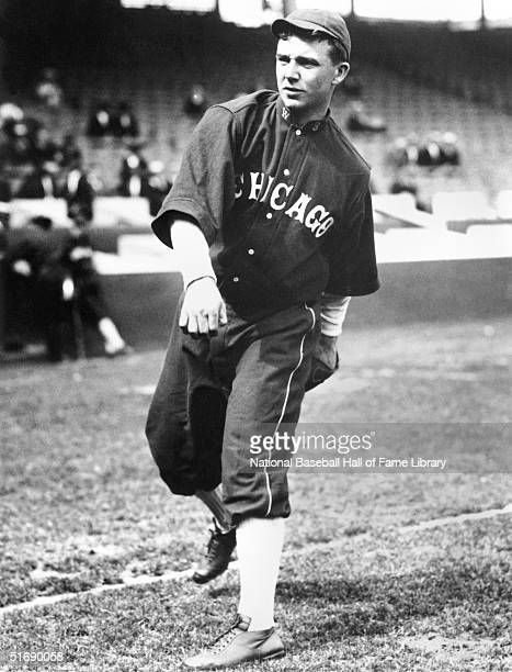 Ray Schalk of the Chicago White Sox poses for an action portrait circa 19121928 Ray Schalk played for the Chicago White Sox from 19121928