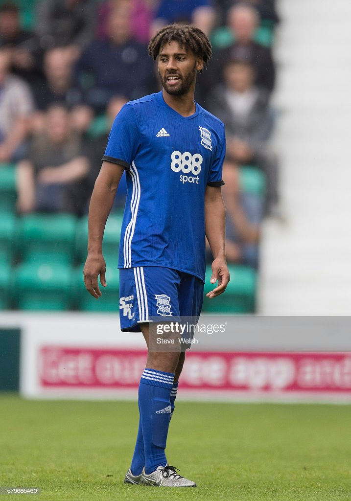 Ray Shotton in action for Birmingham City during the Pre-Season Friendly between Hibernian and Birmingham City at Easter Road on July 24, 2016 in Edinburgh, Scotland.