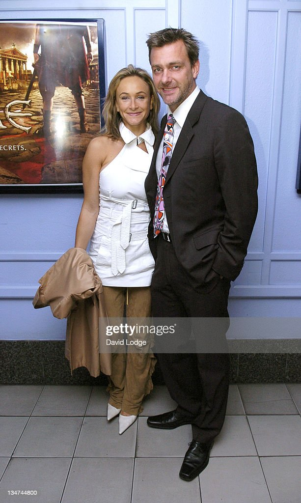 Ray Stevenson and guest during HBO's 'Rome' London Premiere at UGC Trocadero in London Great Britain