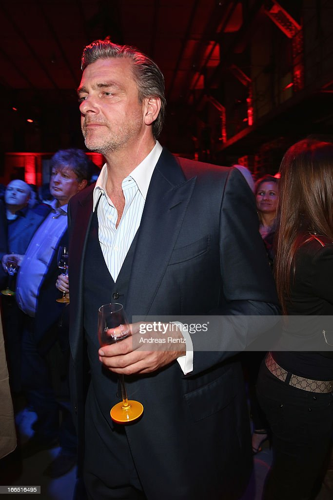 Ray Stevenson attends the Jaguar FType short film 'The Key' Premiere at eWerk on April 13 2013 in Berlin Germany