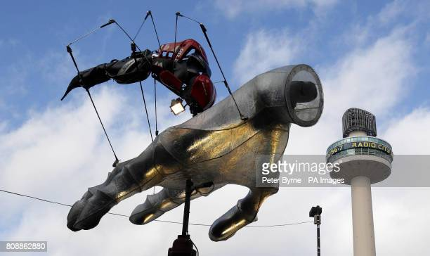 X Ray Ted Golf Bug is installed as part of Liverpool Discovers A Trail of Discovery a public art exhibition on display in the city centre which runs...