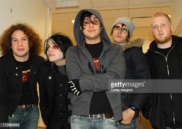 Ray Toro Gerard Way Frank Iero Mikey Way and Bob Bryar of My Chemical Romance