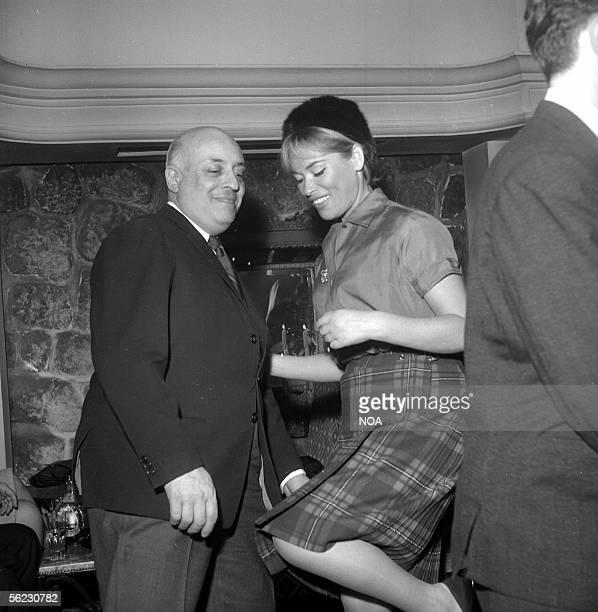 Ray Ventura French conductor dances the twist Paris SaintHilaire Club 1962 HA112112