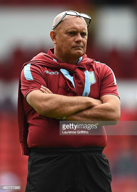 Ray Wilkins Assistant manager of Aston Villa during the Pre Season Friendly match between Nottingham Forest and Aston Villa at City Ground on August...
