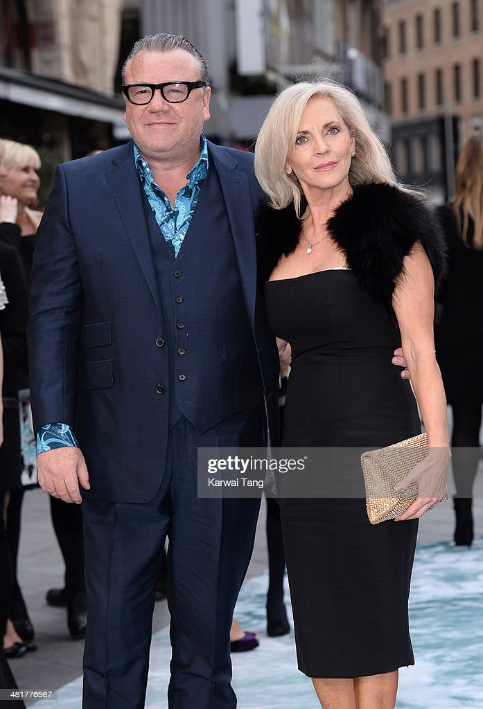 Ray Winstone and Elaine Winstone attend the UK premiere of 'Noah' held at the Odeon Leicester Square on March 31, 2014 in London, England.