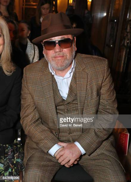 Ray Winstone attend the Pam Hogg show during the London Fashion Week February 2017 collections at Freemasons Hall on February 19 2017 in London...