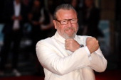 Ray Winstone attends The Sweeney UK Film Premiere at Vue Leicester Square on September 3 2012 in London England
