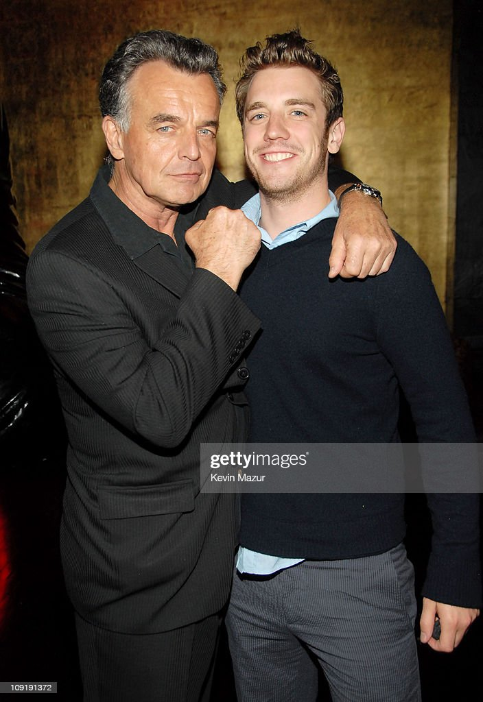 Ray Wise and Bret Harrison of 'Reaper' during 2007 The CW UpFront - After Party at Buddah Bar in New York City, New York, United States.