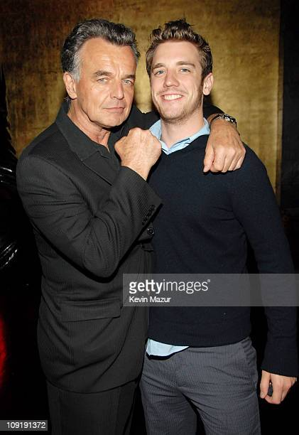 Ray Wise and Bret Harrison of 'Reaper' during 2007 The CW UpFront After Party at Buddah Bar in New York City New York United States