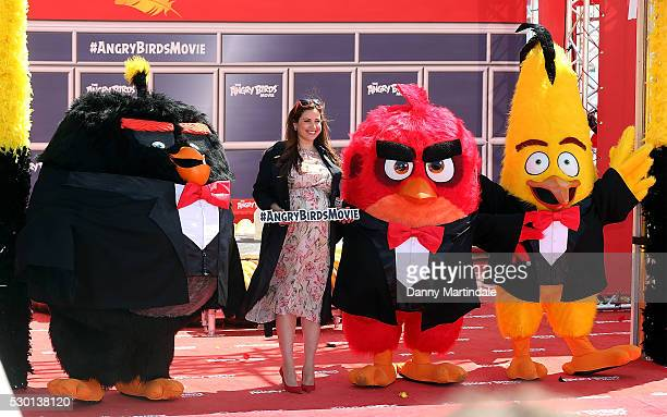 Raya Abirached attends 'The Angry Birds Movie' Photocall during the annual 69th Cannes Film Festival at JW Marriott on May 10 2016 in Cannes France
