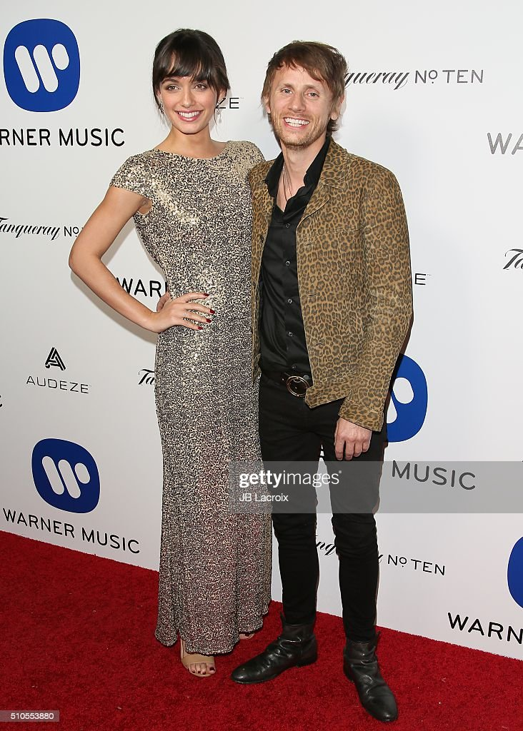 Warner Music Group's Celebration For The 58th Annual Grammy Awards - Arrivals