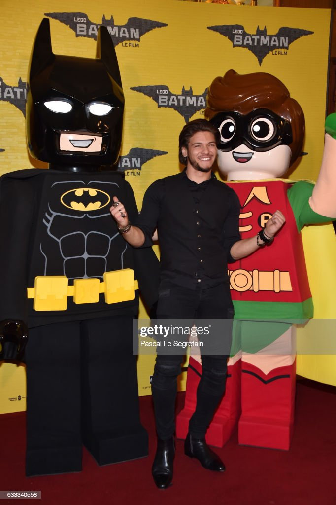 Rayane Bensetti attends 'Lego Batman' Premiere at Le Grand Rex on February 1, 2017 in Paris, France.