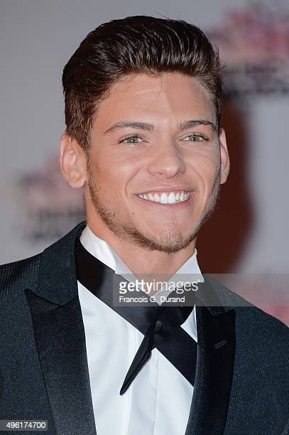 Rayane Bensetti attends the 17th NRJ Music Awards at Palais des Festivals on November 7 2015 in Cannes France