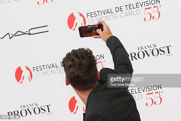 Rayane Bensetti attends the 55th Monte Carlo TV Festival Opening Ceremony at the Grimaldi Forum on June 13 2015 in MonteCarlo Monaco