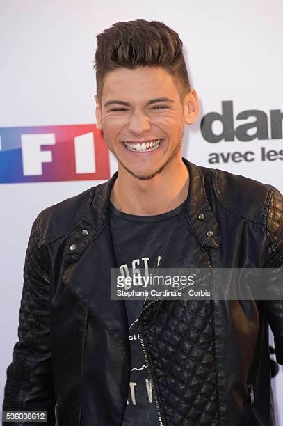 Rayane Bensetti attends the 'Danse Avec Les Stars 2014' Photocall at TF1 on September 10 2014 in Paris France