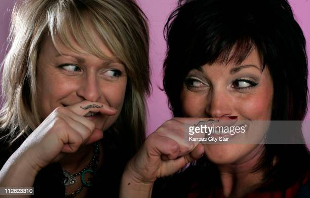 Rayane Thorburn left a designer planner at Hallmark and her best friend Clover MoonCooper a hair stylist in St Joseph at Bliss Salon got mustache...