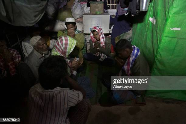 COX'S BAZAR BANGLADESH NOVEMBER 30 Rayeed Alam is seen during his wedding to Nur Begum who doesn't know her age but thinks she is between 14 and 16...