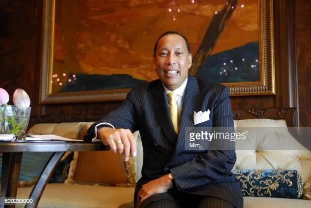 Raymond Bickson MD of Indian Hotels CompanyIndia at the Taj Mahal Palace Hotel's newly opened Palace wing in Mumbai