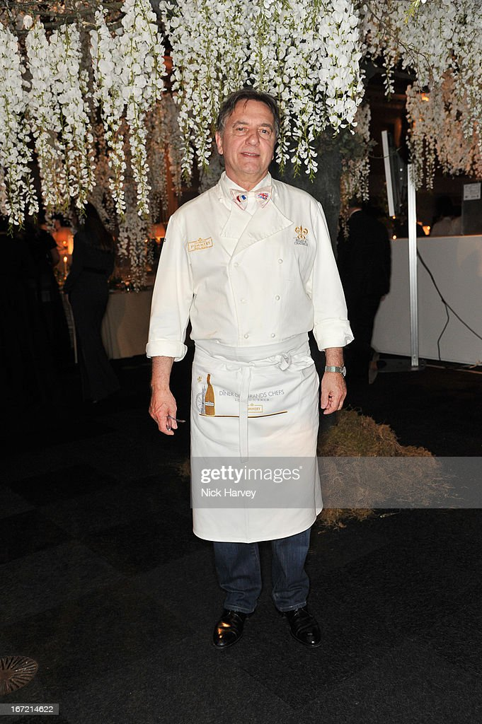 Raymond Blanc attends as Relais & Chateaux present 'Diner Des Grands Chefs London 2013' at The Old Billingsgate on April 22, 2013 in London, England.