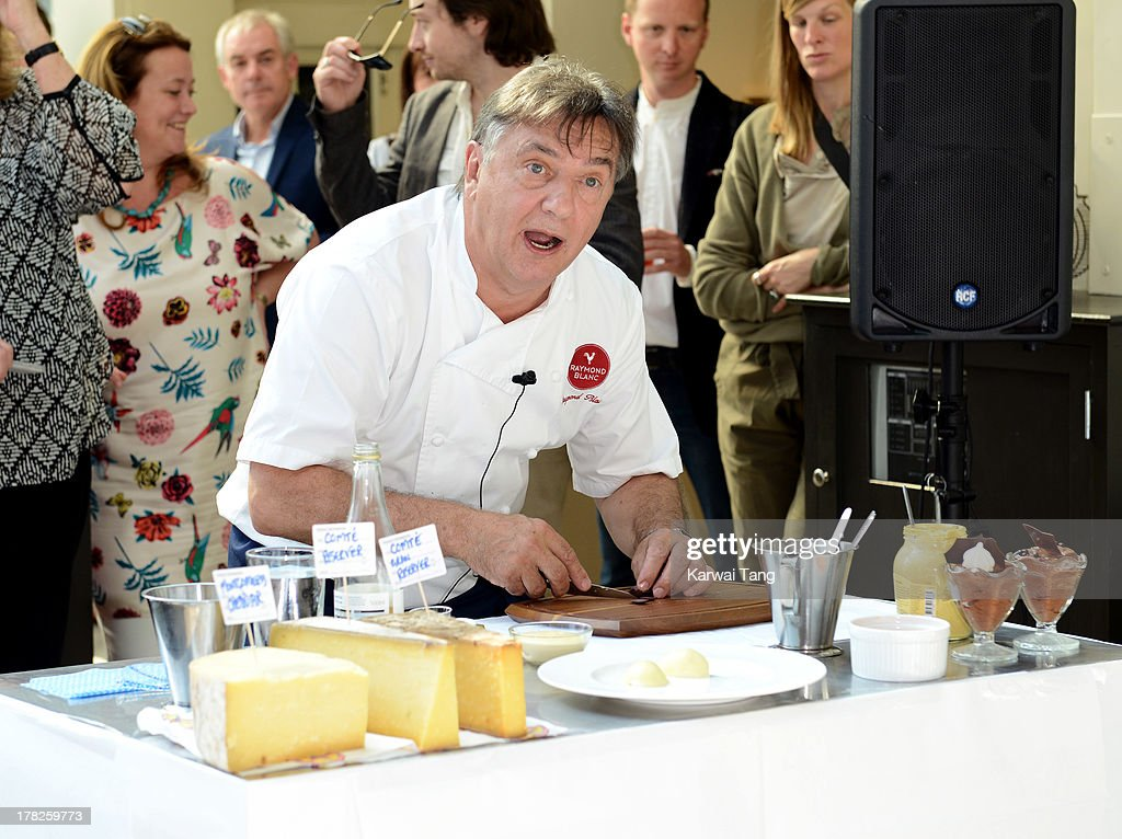 <a gi-track='captionPersonalityLinkClicked' href=/galleries/search?phrase=Raymond+Blanc&family=editorial&specificpeople=756902 ng-click='$event.stopPropagation()'>Raymond Blanc</a> attends the Launch of a New Childrens App 'Henri Le Worm' held at Brasserie Blanc on August 28, 2013 in London, England.