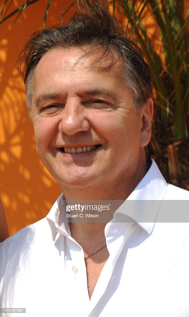Raymond Blanc attends the Veuve Clicquot Gold Cup final at Cowdray Park Polo Club on July 21, 2013 in Midhurst, England.