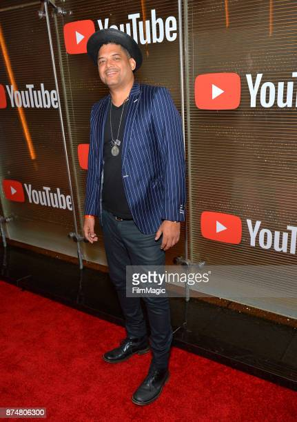 Raymond Castellón at YouTube Musica sin fronteras A Celebration of Latin Music at Jewel Nightclub at the Aria Resort Casino on November 15 2017 in...
