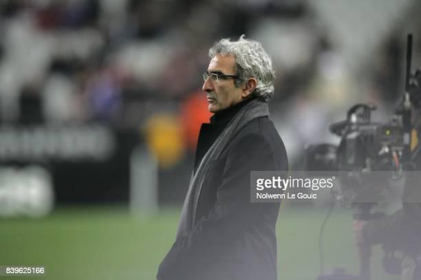 Raymond DOMENECH France / Argentine Match amical Stade de France Saint Denis