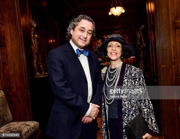 Raymond Dowd and Linda Zagaria attend Objekt USACanada celebrates National Arts Club at National Arts Club on April 27 2017 in New York City