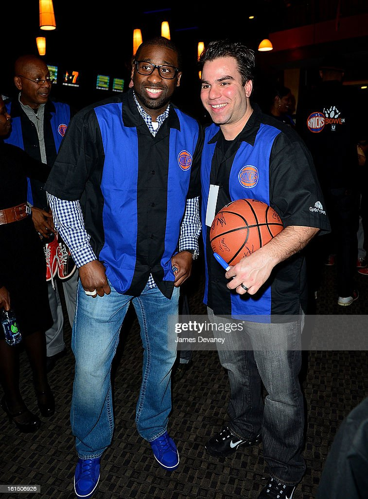 <a gi-track='captionPersonalityLinkClicked' href=/galleries/search?phrase=Raymond+Felton&family=editorial&specificpeople=209141 ng-click='$event.stopPropagation()'>Raymond Felton</a> attends the 14th Annual Knicks Bowl at Chelsea Piers on February 11, 2013 in New York City.