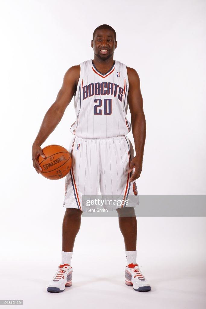 Raymond Felton #20 of the Charlotte Bobcats poses for a portrait during 2009 NBA Media Day at Time Warner Cable Arena on September 28, 2009 in Charlotte, North Carolina.