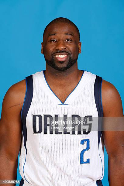 Raymond Felton of the Dallas Mavericks poses for a head shot during Media Day on September 28 2015 at the American Airlines Center in Dallas Texas...