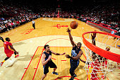 Raymond Felton of the Dallas Mavericks shoots against the Houston Rockets on November 14 2015 at the Toyota Center in Houston Texas NOTE TO USER User...