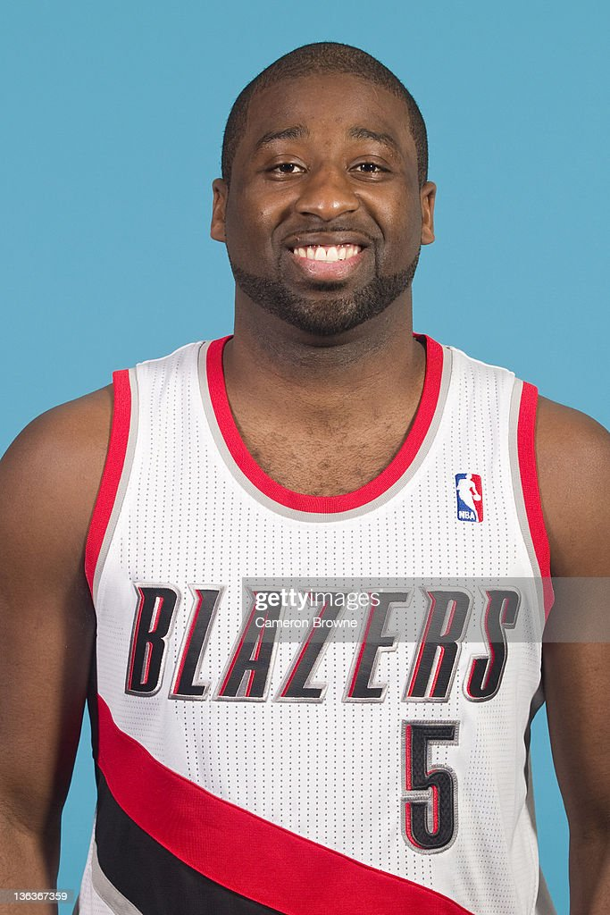 Raymond Felton #5 of the Portland Trail Blazers poses for a portrait during Media Day on December 16, 2011 at the Rose Garden Arena in Portland, Oregon.