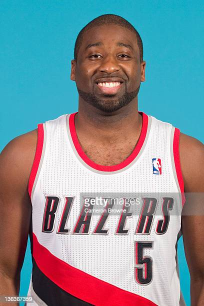 Raymond Felton of the Portland Trail Blazers poses for a portrait during Media Day on December 16 2011 at the Rose Garden Arena in Portland Oregon...