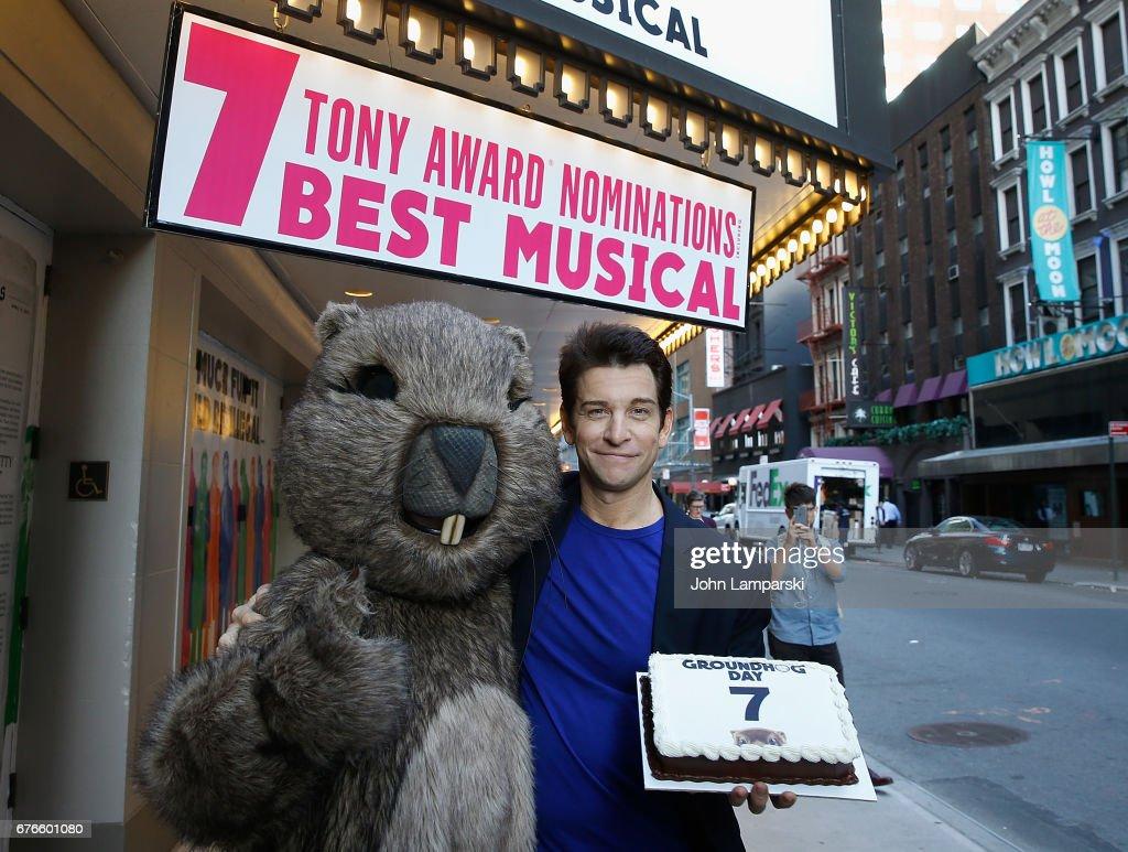 """Broadway's """"Groundhog Day"""" Celebrates 2017 Tony Award Nominations"""