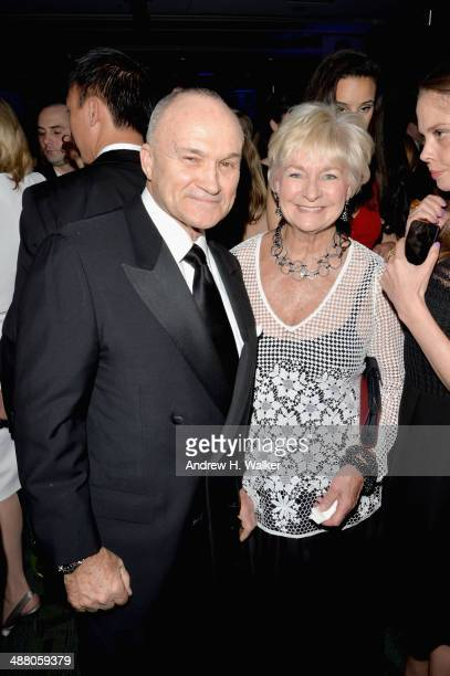 Raymond Kelly and Veronica Kelly attend the Yahoo News/ABCNews PreWhite House Correspondents' dinner reception preparty at Washington Hilton on May 3...